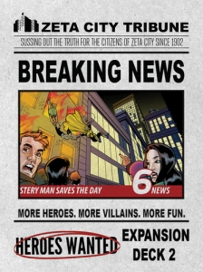 Heroes Wanted - Breaking News!