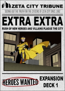 Heroes Wanted - Extra Extra!