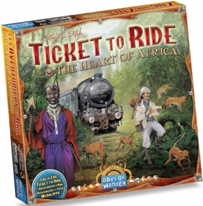 Ticket to Ride: Map Pack #3 - Heart of Africa