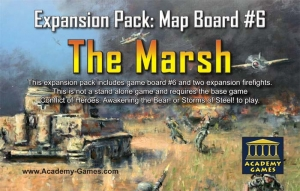 Conflict of Heroes: The Marsh Expansion Map