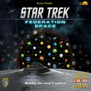 Catan: Star Trek Catan - Federation Space Expansion