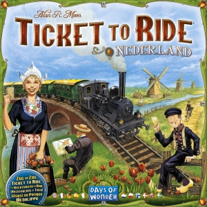 Ticket to Ride: Map Pack #4 - Nederland