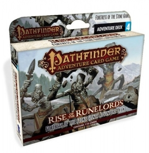 Pathfinder: Rise of the Runelords - Fortress of the Stone Giants Adventure Deck