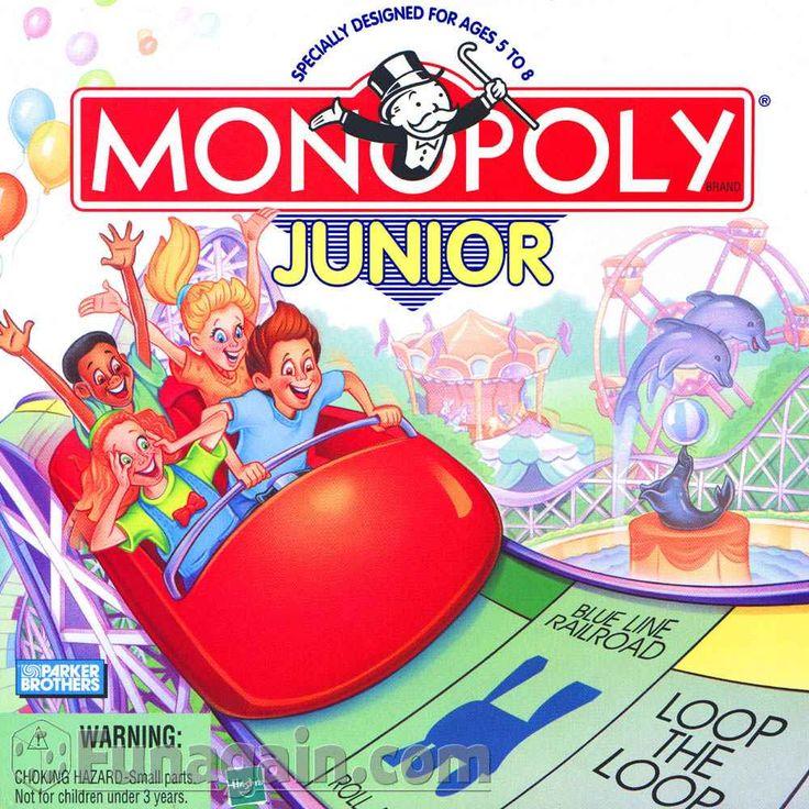 Image result for monopoly jr