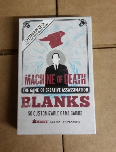 Machine of Death: Card Deck