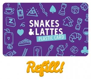 S&L Plastic Card Refill
