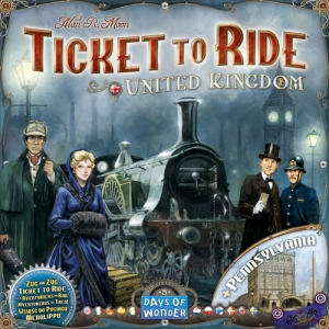 Ticket to Ride: Map Pack #5 United Kingdom and Pennsylvania