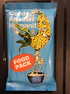 Cards Against Humanity: The Food Pack (Foil)