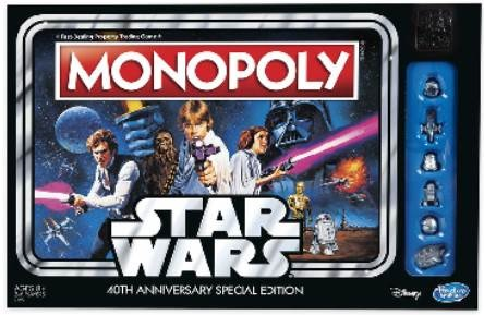 Star Wars Monopoly - 40th Anniversary