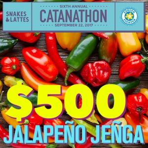 $500 - Jalapeno Jenga (Catanathon)