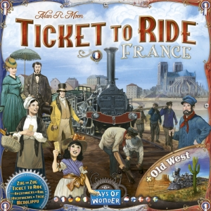 Ticket to Ride: France / Old West Map 6