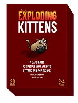 Exploding Kittens - 1st edition
