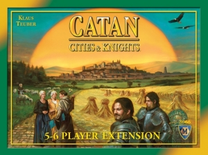 Catan: Cities & Knights, 5-6 Extension (4th Edition)