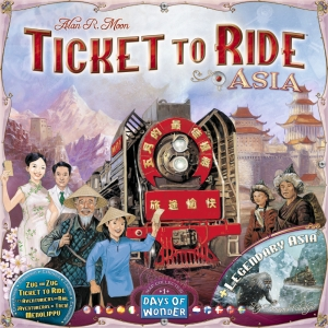 Ticket to Ride: Map Pack #1 - Asia