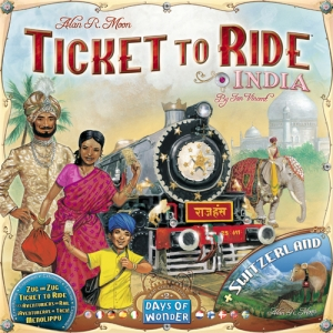 Ticket to Ride: Map Pack #2 - India